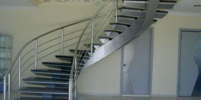 Eğrisel Merdivenler