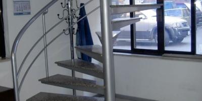 Ortadan Döner Merdivenler